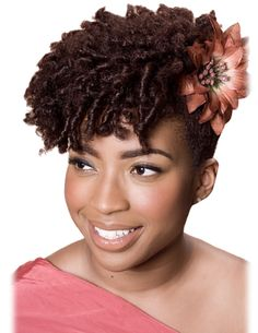 Style: Comb twists in a swept upwards. Verdict: Sexy. Action: Replicate ASAP