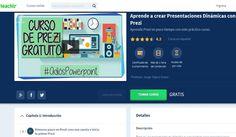 Un curso en línea y completamente gratuito para aprender a crear presentaciones dinámicas con la herramienta Prezi.