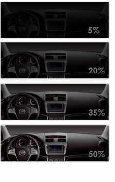 Protect the interior of your car by getting your windows for 100 window tint