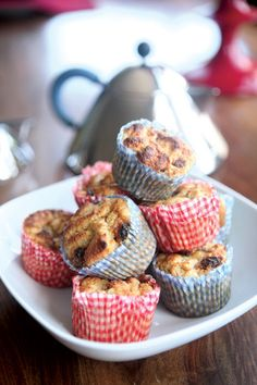 Bread and Butter Pudding Cupcakes Pudding Cupcakes, Pudding Cake, Bread And Butter Pudding, Cupcake Frosting, Tea Time, Muffins, Sweet Treats, Good Food, Party Ideas