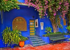 Set de table Maroc Marrakech Jardin Majorelle 1