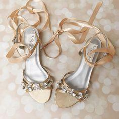 Gold Wedding Shoes Wedding Shoes Bridal by EllieWrenWeddingShoe