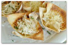 Crunchy Coconut Shrimp Won-Tons Recipe from Pinterest