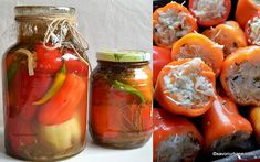 Fresh Rolls, Stuffed Peppers, Vegetables, Ethnic Recipes, Food, Canning, Romanian Recipes, Stuffed Pepper, Vegetable Recipes