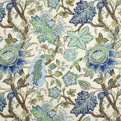 Robert Allen @ Home Robert Allen St Etienne Cn Lapis Fabric