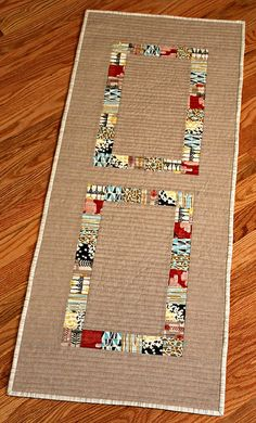 Patchwork Table Runner | Flickr - Photo Sharing!