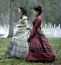 The Vampire Diaries 1800s Dresses, Old Dresses, Katherine Pierce, Narnia, Katharina Petrova, The Vampires Diaries, Vampire Diaries Fashion, 18th Century Fashion, Quince Dresses