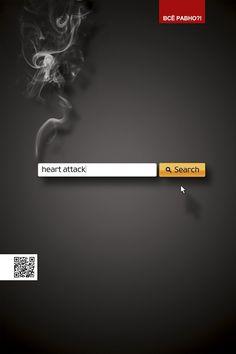 Don't you care? Campagna ADV russa contro il fumo