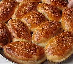 Sodalı Pamuk Poğaça Tarifi - Mutfakgram Hot Dog Buns, Hamburger, Bread, Food, Brot, Essen, Baking, Burgers, Meals