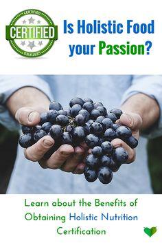 holistic nutrition certification
