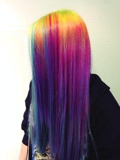 Perfect Rainbow Hair Inspiration