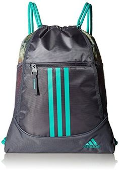 Amazon.com   adidas Alliance II Sackpack   Gym Drawstring Bags   Sports   amp  21f7c42bf6a9f