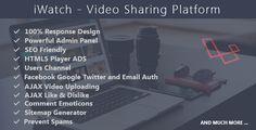 iWatch - Video Sharing Platform - https://codeholder.net/item/php-scripts/iwatch-video-sharing-platform