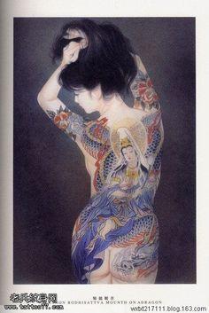 Kai Fine Art is an art website, shows painting and illustration works all over the world. Japanese Drawings, Japanese Artwork, Japanese Prints, Japanese Dragon Tattoos, Japanese Tattoo Art, Japanese Horror, Geisha Art, Samurai Art, T Art