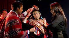Ecuador elige a su primera reina de belleza indígena, Jenny Guillin con su corona valorada en 5.000 ... - Proporcionado por Clarín