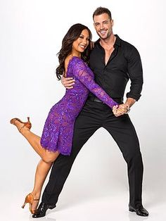 Dancing with the Stars (former season) couple that I liked, William Levy & Cheryl Burke.