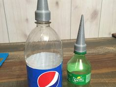 Thingiverse: This is a spike that you screw onto an empty pop bottle to keep your flowers and/or plants  watered while you're away