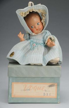 Vintage Vogue Composition Sunshine Baby Doll.