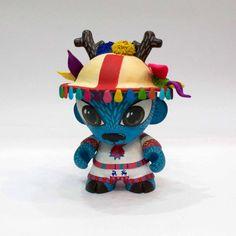 Invasion toy 3.0 rojo bermelo... toy Huichol