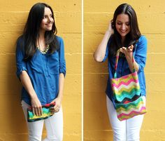 How to Make a Tote and Clutch in One