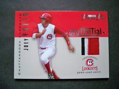 2006 Tristar Prospects Plus ProTential Patches Joey Votto /25 Reds NM/MT