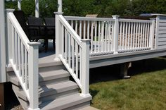 photos of railing for outside steps | Outdoor Stair Railings | Endurance Railing - RDI