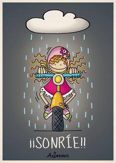 Una sonrisa para el mal tiempo!!! (versión chica...jeje)