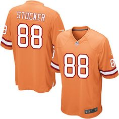 ea291efbd Nike Limited Luke Stocker Orange Youth Jersey - Tampa Bay Buccaneers #88 NFL  Alternate