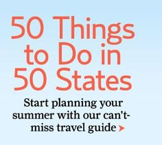 I'll visit all 50 states one day!