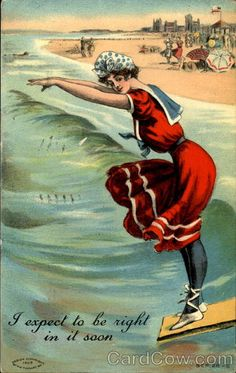I Expect To Be Right In It Soon Swimsuits & Pinup....reépinglé par Maurie Daboux ❥•*`*•❥