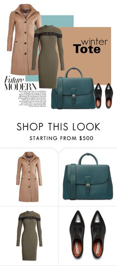 """Winter totebag"" by beautifulgirlsblog on Polyvore featuring Barbour, Burberry, Alexander Wang, Acne Studios, women's clothing, women's fashion, women, female, woman and misses"