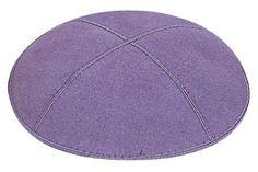 Individual Lavender Suede Kippah