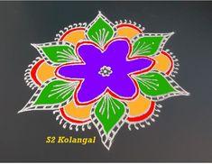 simple 5 to 3 interlaced dots rangoli.. #kolam #rangoli #muggulu #S2kolam