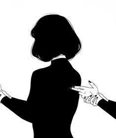 Art sketches hucke woman jacket - Woman Jackets and Blazers Art Anime, Anime Kunst, Anime Art Girl, Art Sketches, Art Drawings, Arte 8 Bits, Art Du Croquis, Photographie Portrait Inspiration, Sad Art