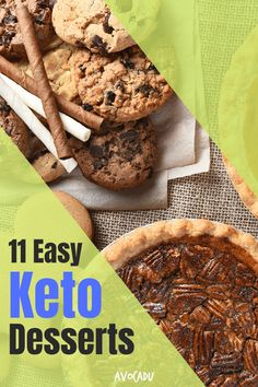 If you're salivating at the thought of weight-loss friendly desserts, but don't want to pay the hefty price tag (or deal with added preservatives) of the store-bought variety, this list of recipes is for you! Check out our favorite quick keto dessert ideas in our newest article here. #avocadu #ketodesserts #quickketodessert #healthydesserts #sugarfree #lowcarb Keto Snacks, Healthy Desserts, Snack Recipes, Dessert Recipes, Keto Recipes, Healthy Food, What's A Keto Diet, Quick Keto Dessert, Lemon Mug Cake