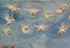 Giotto Angels (detail) Scrovegni Padova