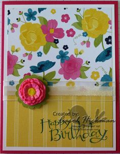 Stampin' Up! Simply Pressed Clay and Buttons & Blossoms Clay Molds!! So fun and easy to use...double click on picture to see blog post with earrings and swap cards!!