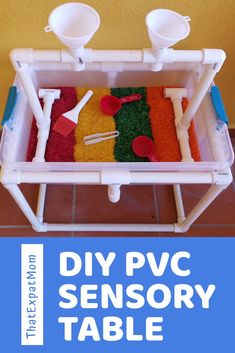 Sensory Table, Baby Sensory, Sensory Bins, Sensory Play, Sensory Activities Toddlers, Indoor Activities For Kids, Infant Activities, Fun Activities, Kids Water Table