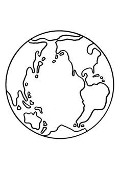 Searching for various methods to teach your kid about importance of Earth Day? Now celebrate this day with these 20 free printable Earth Day coloring pages. Earth Day Coloring Pages, Moon Coloring Pages, Coloring Pages To Print, Free Printable Coloring Pages, Coloring Pages For Kids, Earth Clipart, World Clipart, Importance Of Earth Day, Earth Day Crafts