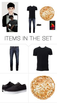 """""""with him ~mel"""" by supernatural-fan-1999 ❤ liked on Polyvore featuring art"""