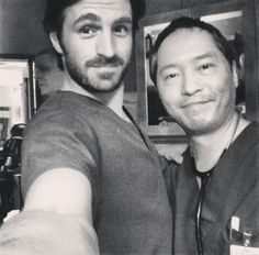 It's monday! Night Shift Day! Such a cute photo of Eoin and Ken ♡