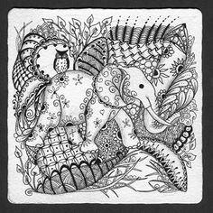 Elephant & Owl 3