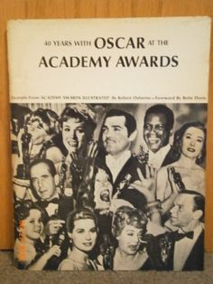 40 Years with Oscar at the Academy Awards by Robert; foreword by Bette Davis Osborne,http://www.amazon.com/dp/B001Q79XC2/ref=cm_sw_r_pi_dp_D2Altb0PC9PA1YG5