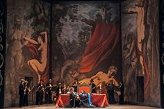 Don Giovanni from Teatro Regio Torino. Production by Michele Placido. Sets and costumes by Maurizio Balò.