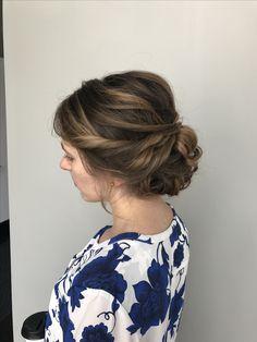 Stylist: Morgan Collins at Salon Vivacé in Mansfield, Ohio #updo #promhair #homecominghair #bridesmaid #bridesmaidhair #hair #formalstyle