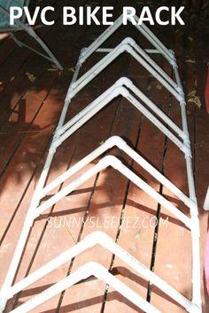 PVC BIKE RACK DIY PLANS