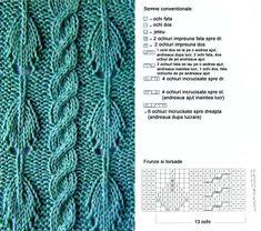 Model leaf   Cool knitting pattern