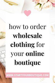 When starting an online boutique business it's super important to have quality products your customer's will love! SAVE THIS PIN then click through to learn where to find good, trustworthy U.S.A based wholesalers to buy from as you make your online boutique a reality. Retail Business Ideas, Online Business, Business Tips, Starting A Clothing Business, Business Marketing, Starting An Online Boutique, Wholesale Boutique Clothing, Wholesale Shoes, Buying Wholesale