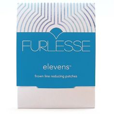Furlesse Elevens Anti-Aging Patches for Frown Line Wrinkles by Furlesse - Relax Fine Lines Between the Eyes. $17.90. Easy to apply and remove, no messy cleanups. Use nightly or daily, minimum 2 to 3 hours. Clear and comfortable. Hypoallergenic and latex-free. 30 patches to reduce lines between the eyes. Made in the USA. Furlesse is the newest no-needle solution to relaxing frown lines between the eyes. The simple-to-use, transparent patch is designed to fit any forehead to gently...
