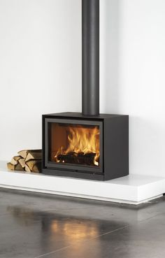 On a day like today I'd love one of these at home. #warmth #fireplace #design